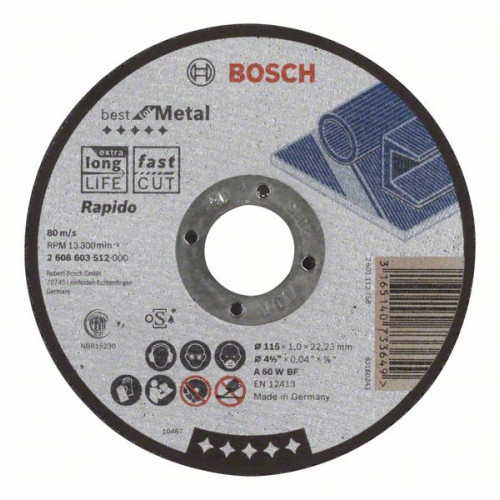 Bosch Rezne ploče Best for Metal
