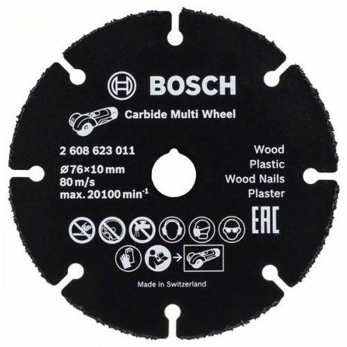 Bosch Rezne ploče Carbide Multi Wheel