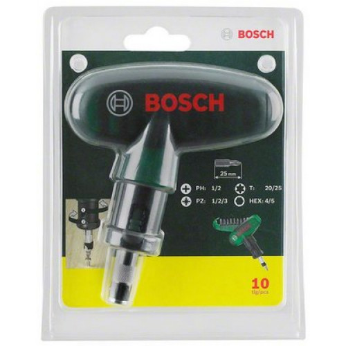 Bosch 10-delni pocket set bitova