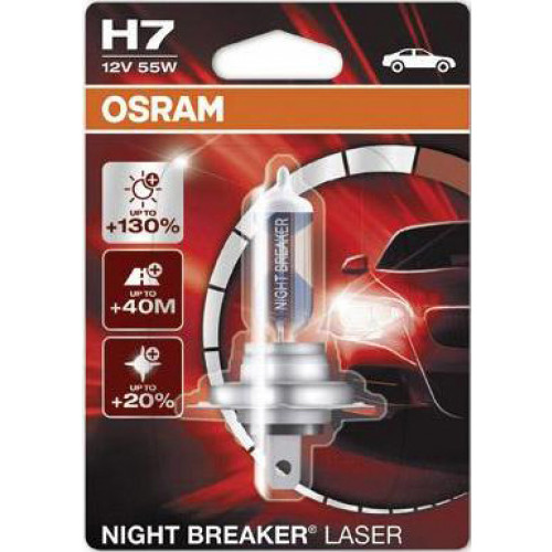 Osram Night Braker H7 12V 55W Blister