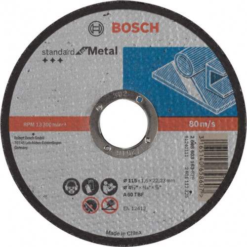 Bosch Standard for Metal AS46 S BF rezna ploča