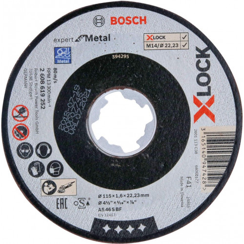 Bosch X-LOCK Expert for rezna/brusna ploča